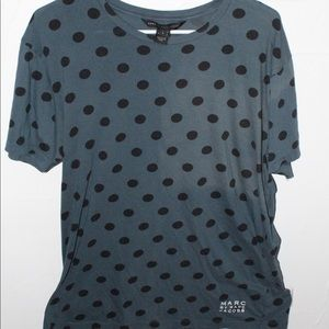 Marc by Marc Jacobs Short Sleeve Polka Dot Large